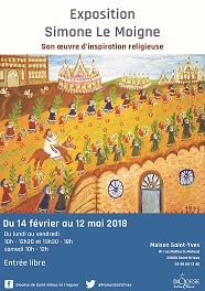 expo oeuvre d'inspiration religieuse 2018
